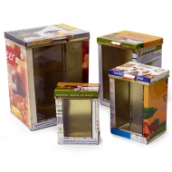 box with glass, 4pcs Set