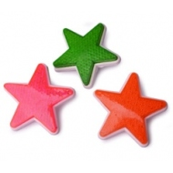 48 pcs. bycicle reflector, star