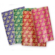 230 pcs. wrapping paper floral