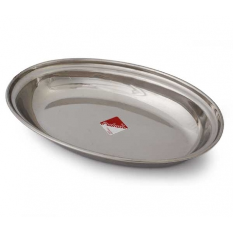 bowl stainless steel, oval