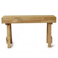 wooden bench Senegal, small
