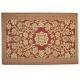 Plastic carpet 120x180 cm rolled, floral 2