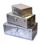 Metall- Kiste, 3er Set