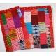 patchwork blanket 215x160cm