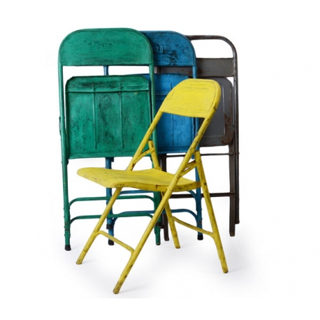 folding chair metal