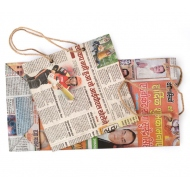 100 pcs. newspaper bags with handle