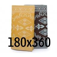 plastic carpet 180x360 cm folded, oriental