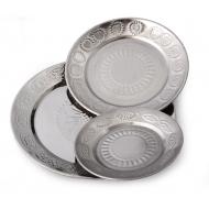 Plate stainless steel simple